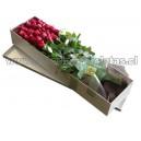 Caja de hermosas rosas